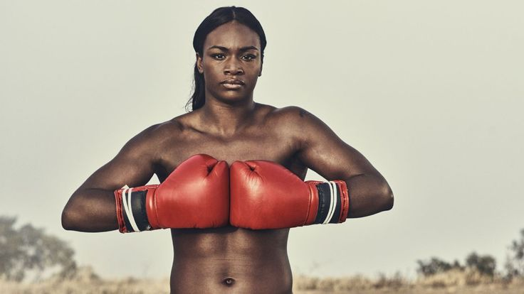 Claressa Shields, boxing, olympics, featured in the Body Issue 2016: Fully…