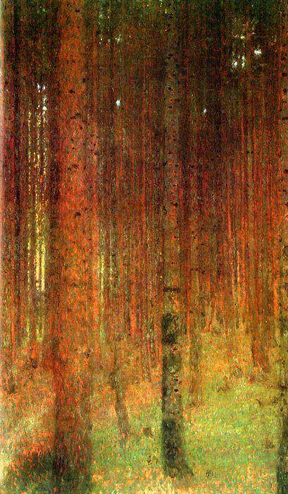 Tannenwald II (Pine Forest II) Gustav Klimt