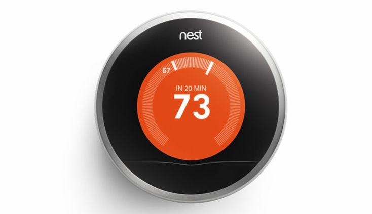 Termostato - Nest Learning Thermostat - DOMOMIA