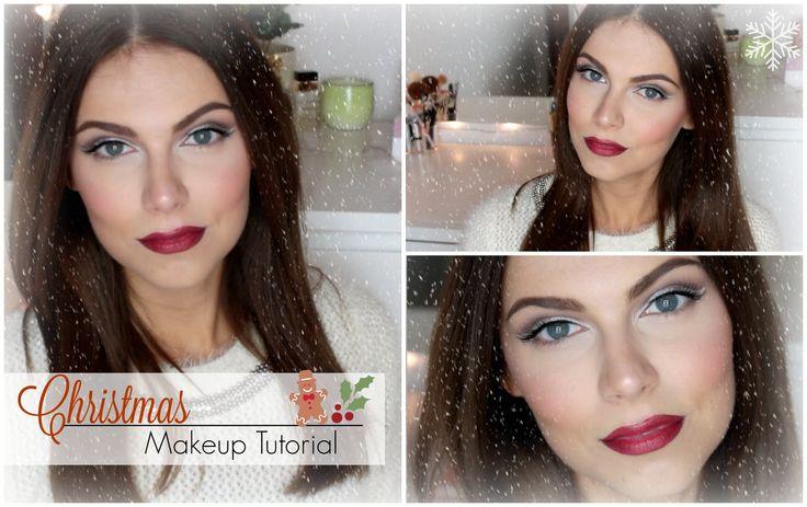 Amazing Christmas Makeup Tutorial ♡ Christina Tiger