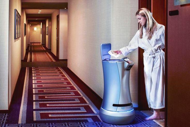 品川プリンスホテルにルームサービスロボが就職するんだって