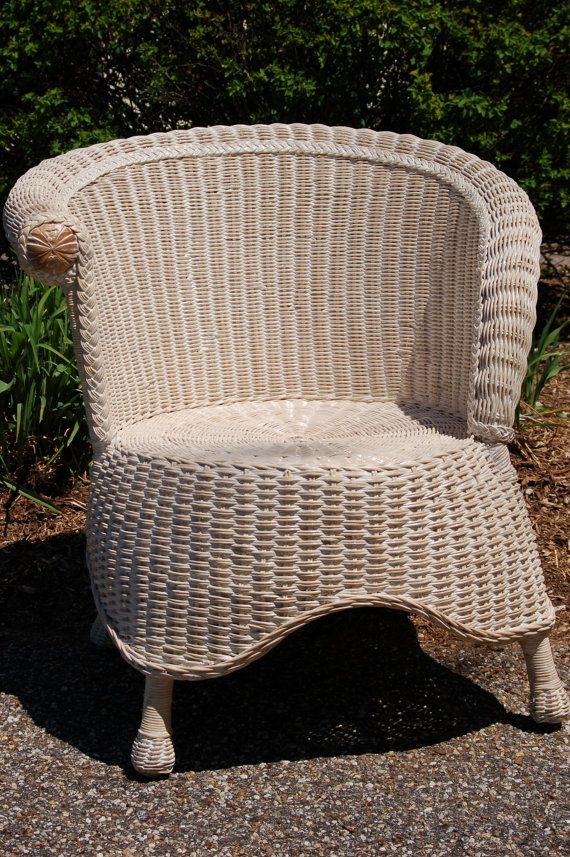 Wicker Photographer's Style Chair via Etsy