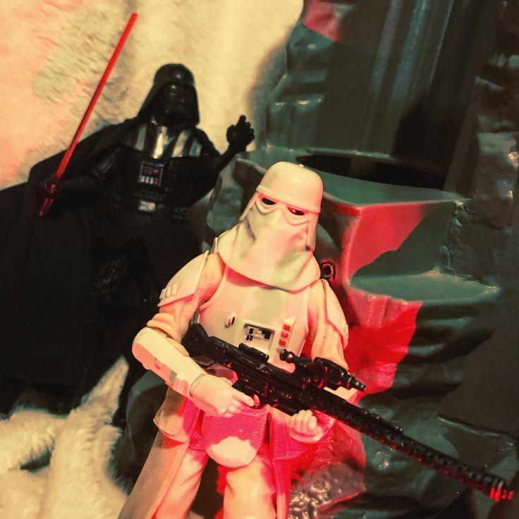 Darth Vader & Snow Trooper
