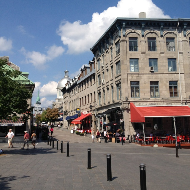 Take A Stroll Through The Old Port. Montreal.