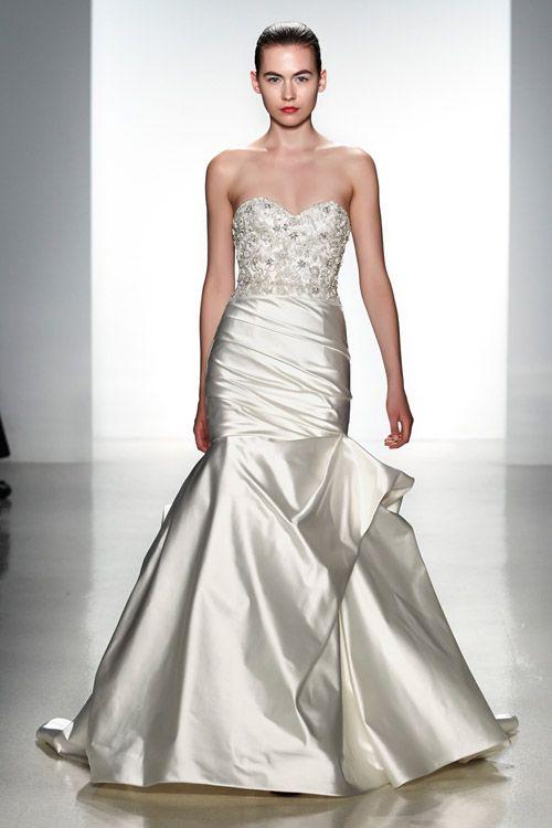 Kenneth Pool wedding dress from the Spring 2014 bridal collection   via junebugweddings.com
