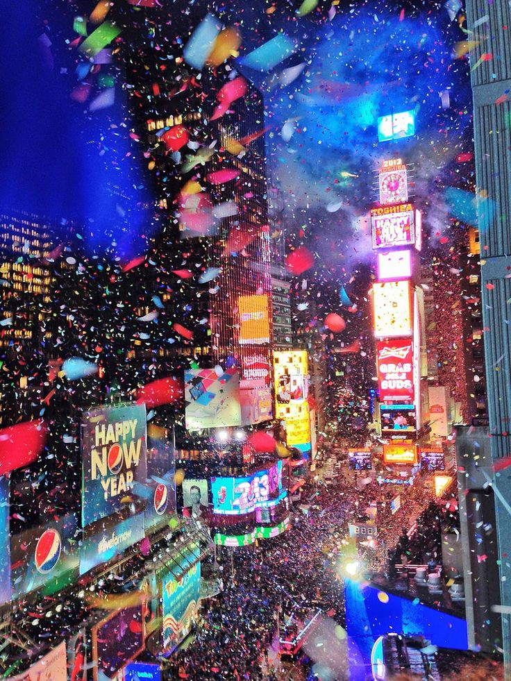 Times Square New Year's Celebration | New York, United States