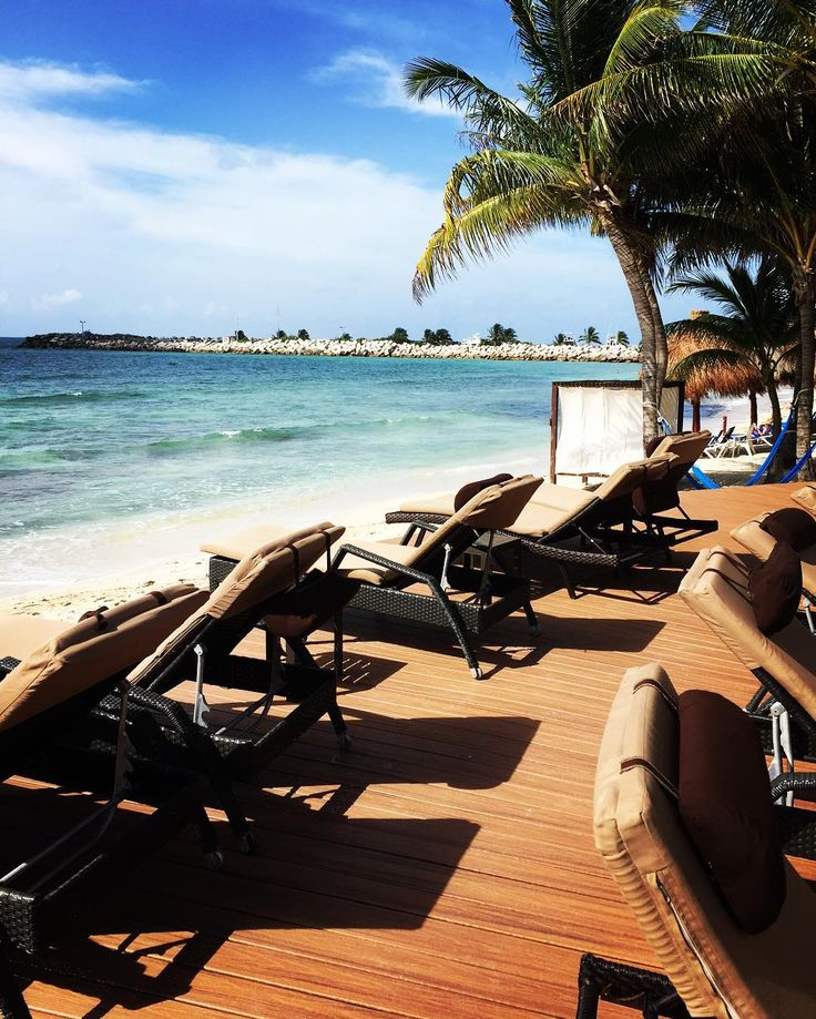 Views at Hotel Marina El Cid Spa & Beach Resort in Riviera Maya.