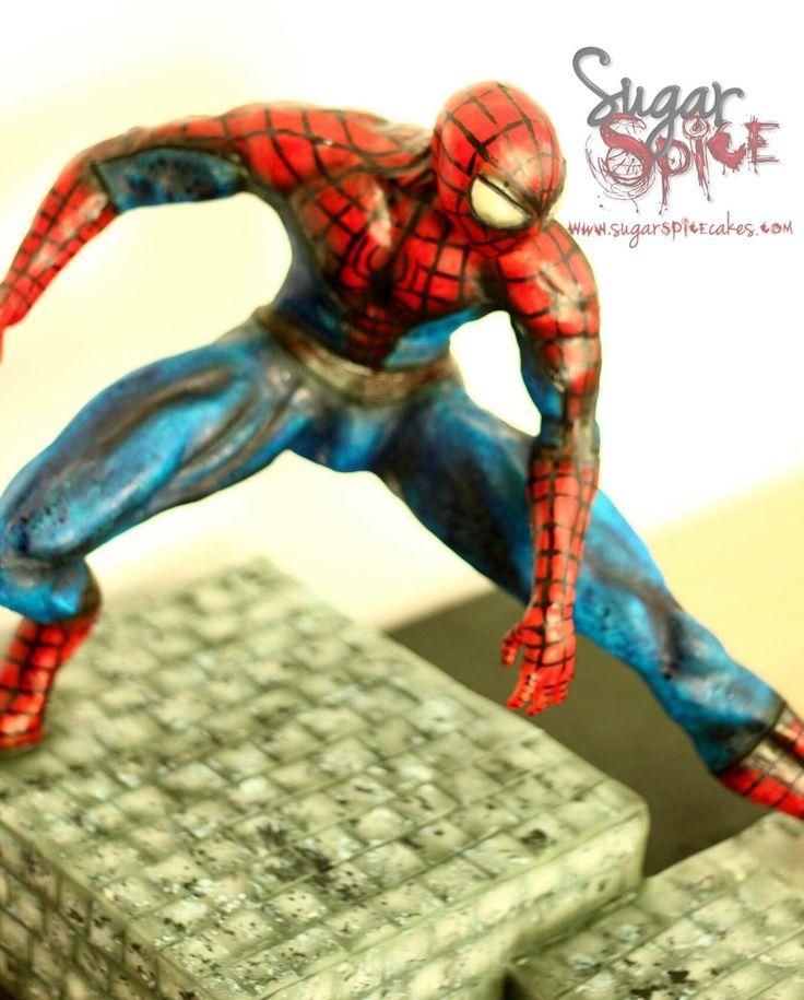Best 25 Spider Man Cupcakes Ideas On Pinterest