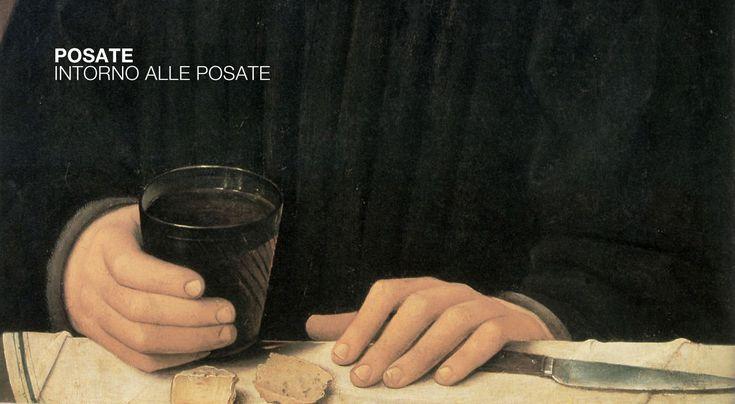 Pittore portoghese, L'uomo con il bicchiere di vino, metà XV secolo, particolare. Parigi, Musée du Louvre