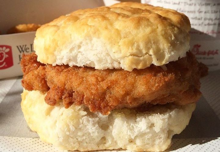 Chick-Fil-A Chicken Biscuit | Up Out - I love when my husband gets up On a Saturday and gets us biscuits for breakfast.