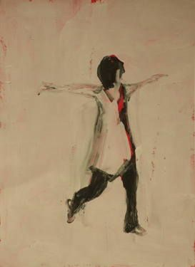 "Saatchi Art Artist Marta Zamarska; Drawing, ""Modern Dance XXXIV"" #art"
