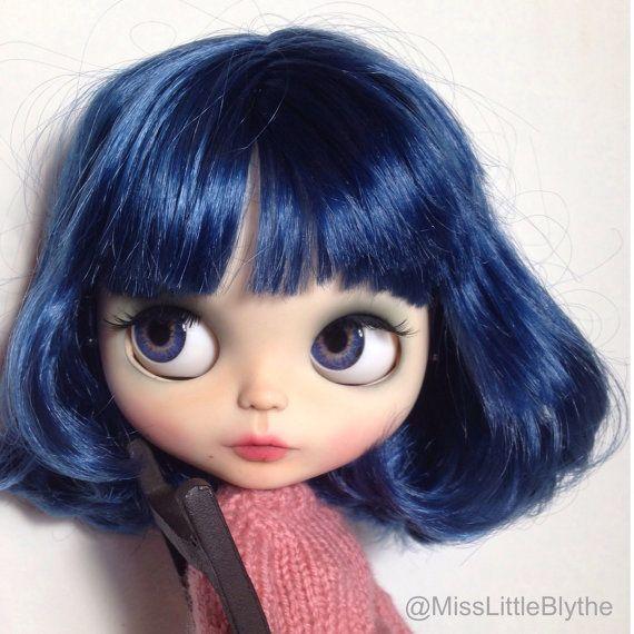OOAK Custom Factory/Fake Blythe Doll Violetta por MissLittleBlythe