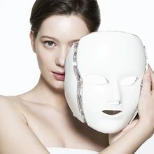 Home Use Photon Korean LED Photodynamic Facial Mask Beauty Instrument Anti acne Skin Rejuvenation led mask facial treatment