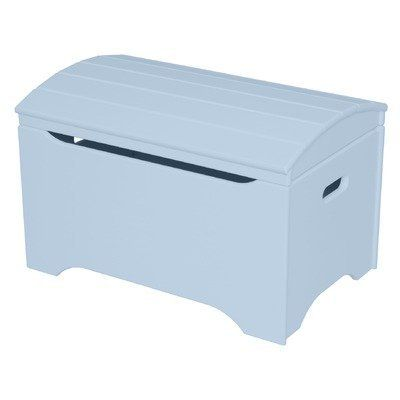 8Treasure Chest in Powder Blue by Little Colorado. $165.89. 53-PB-MDF- Features: -Treasure chest.-Made from MDF.-Personalization is a wonderful option.-Bottom panel is CARB phase 2 Baltic birch plywood.-Lid is fully assembled.-Box is shipped ready to assemble. Color/Finish: -Finish: Powder Blue.