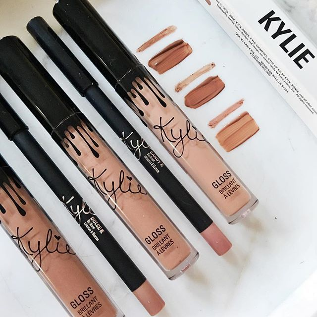 Kylie cosmetics - GLOSSES LIKE_LITERALLY_SO CUTE