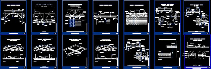 Detail false ceiling (dwgAutocad drawing)