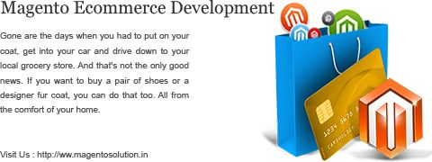 Magento is a latest and very powerful framework to build a strong online Store. Magento becomes very famous among big part of Ecommerce Website developers and business owners. If you planning to build website for your business then you should get help of Magento development India.