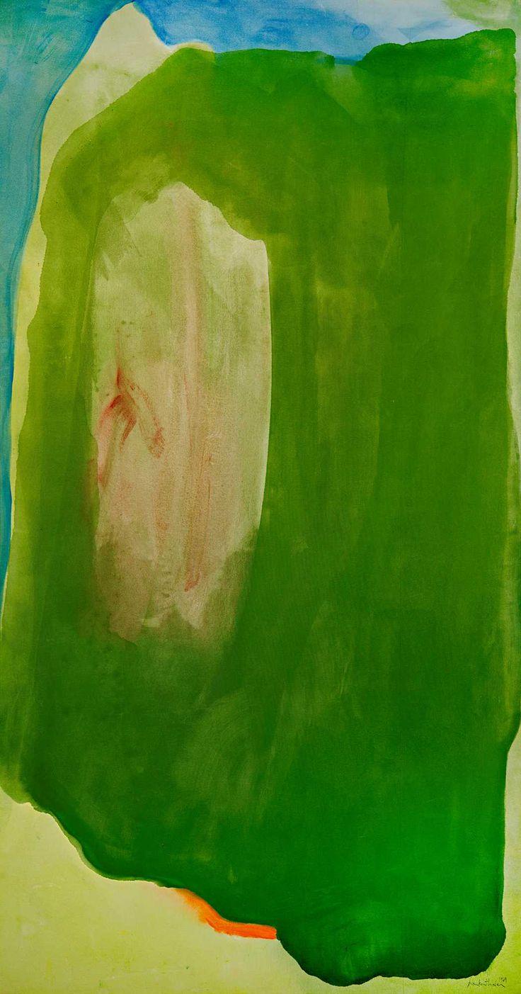Helen Frankenthaler - Mirror