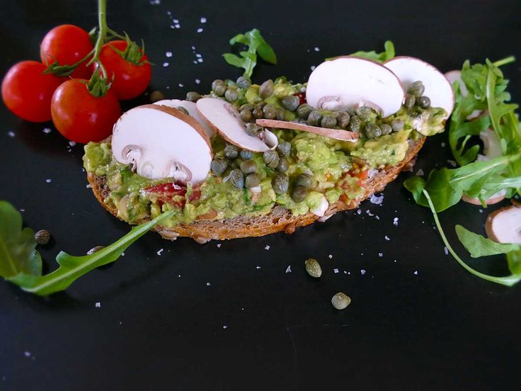 Avocado Brot, der morgendliche Genuss - Gaumenschrei