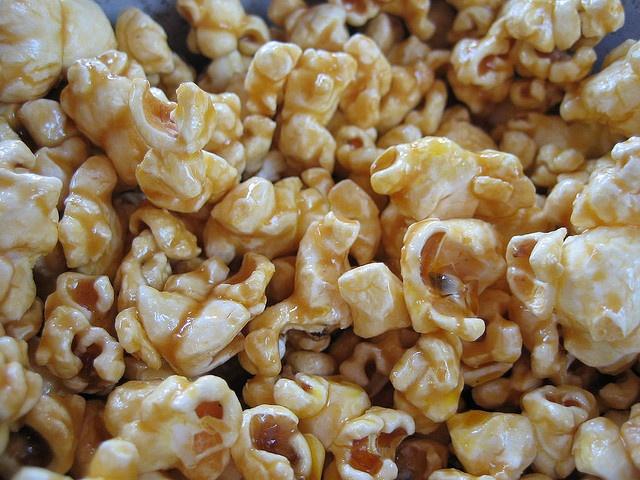 Honey Caramel Popcorn...Miam