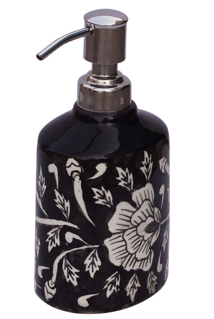 Source Bulk Ceramic Liquid Soap Lotion Dispenser With Aluminium Pump In Black And White Color From Wholesale Suppliers At Unbeatable Price Decorative
