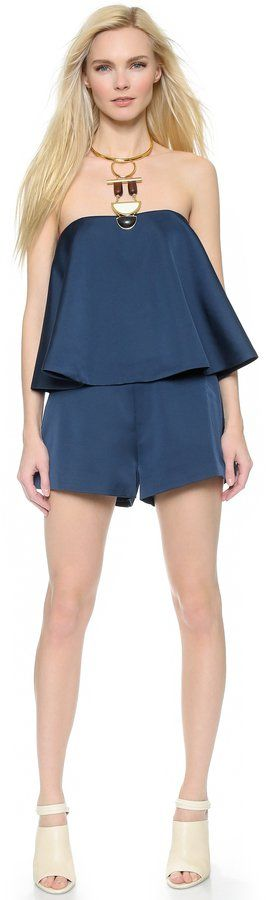Pin for Later: Kristen Stewart Just Made the Party Romper Your New Go-To  Keepsake Night After Night Romper ($179)