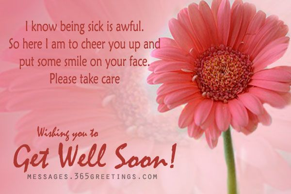 Sweet Get Well Sayings | Get Well Soon Cards with Get Well Soon Messages
