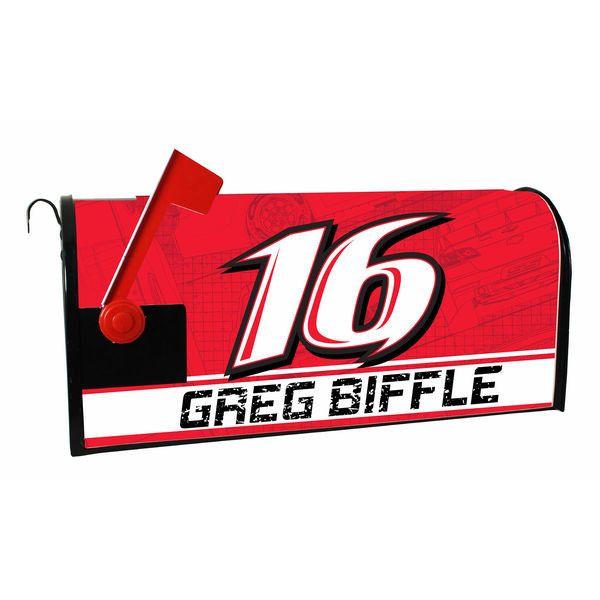 Greg Biffle Mailbox Wrap
