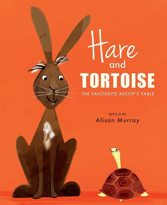 My mini reviewers (aged 7, 6 and 4) give you their opinion on Alison Murray's retelling of Aesop's fable, Hare and Tortoise.