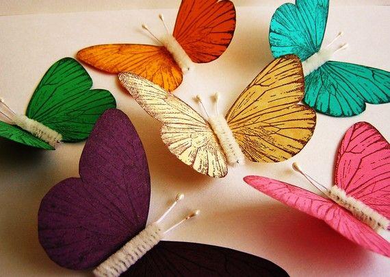 Paper butterfly - wedding decor