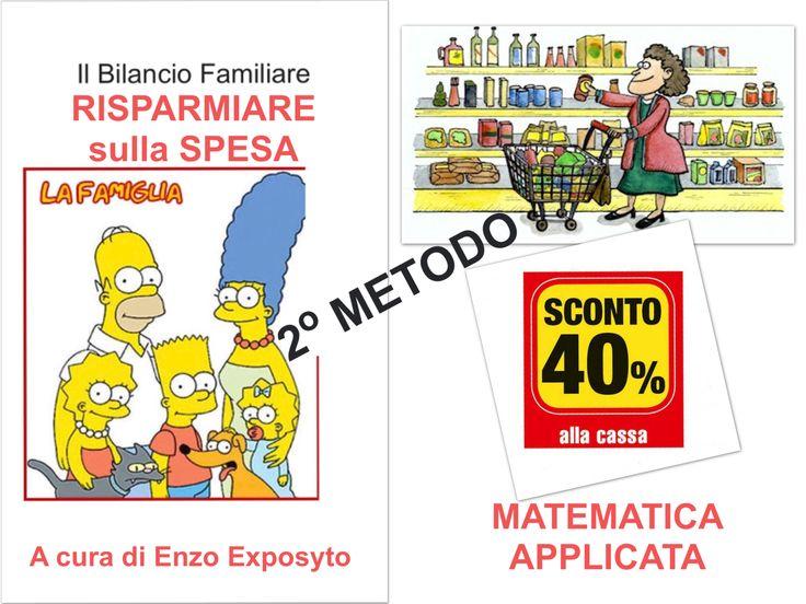 COPERTINA ...   FAMIGLIA - RISPARMIARE sulla SPESA - SCEGLIERE il PUNTO VENDITA PIÚ CONVENIENTE - PRIMO METODO - ESEMPIO con CALCOLI e GRAFICI PASSO PASSO  #bilancio_familiare #economia #economics #equation #equations #equazione #equazioni #famiglia #family #family_savings #formula #formulas #nuove_formule #risparmio #spesa #tabelle #new_formulas #indifference_point