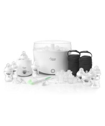 Tommee Tippee Closer to Nature Essentials Sterilisation Set - electric sterilisers - Mothercare