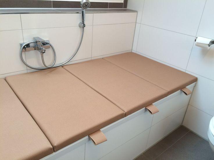 Beispiele für den Einsatz von Bathcover als moderne Badewannenabdeckung.