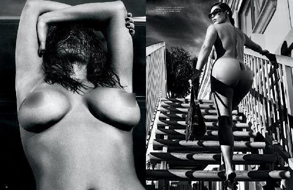 Tarafsız Bölge Galeri | Kim Kardashian ve Kendell Jenner'dan Love Dergisine Olay Pozlar