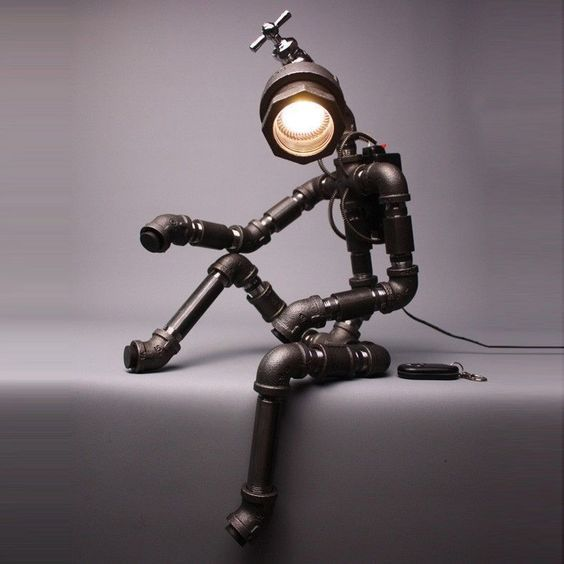 Tolle Industrial Style Lampe
