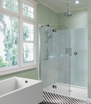 MTI - Shower Shield W/ Square Hinge