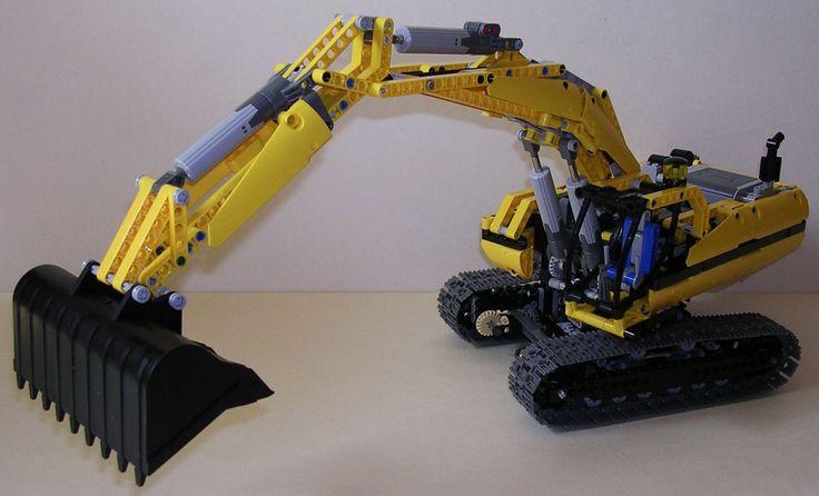 TechLug.fr - Review Lego Technic #8043 Excavatrice