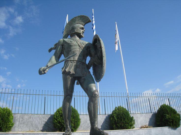 SPARTA   in Greek SPARTI