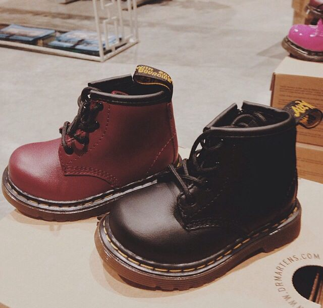 Baby Doc Martens! I think I might have to get Jovi a pair so we can twin