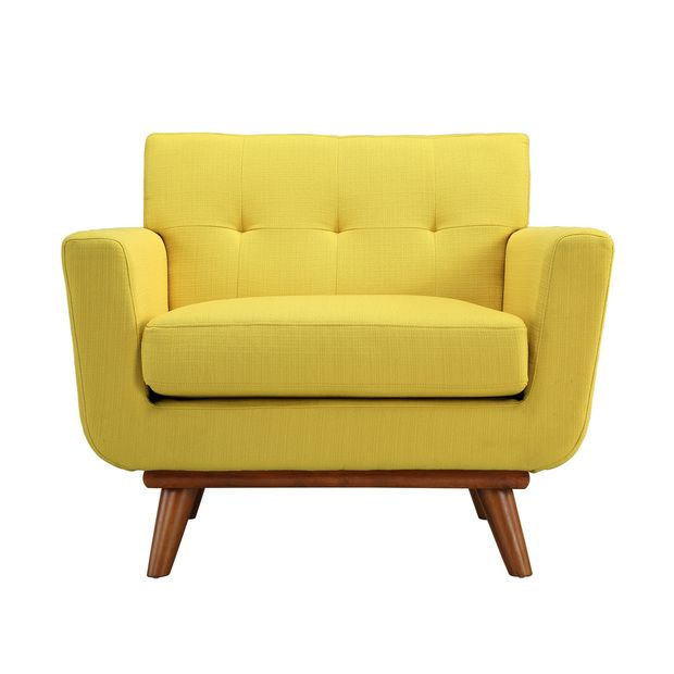Spiers Armchair in Yellow   Yellow ArmchairModern ArmchairOccasional ChairsUpholstered  ChairsLounge  206 best products  lounge chair  images on Pinterest   Lounge  . Modern Yellow Lounge Chair. Home Design Ideas