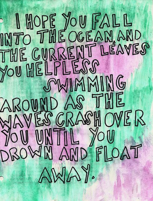 A Shot Across the Bow- mayday parade