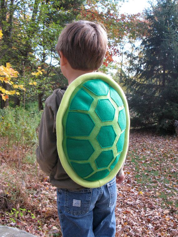 Turtle Shell Costume for Children by NaturallyCraftyShop on Etsy, $55.00