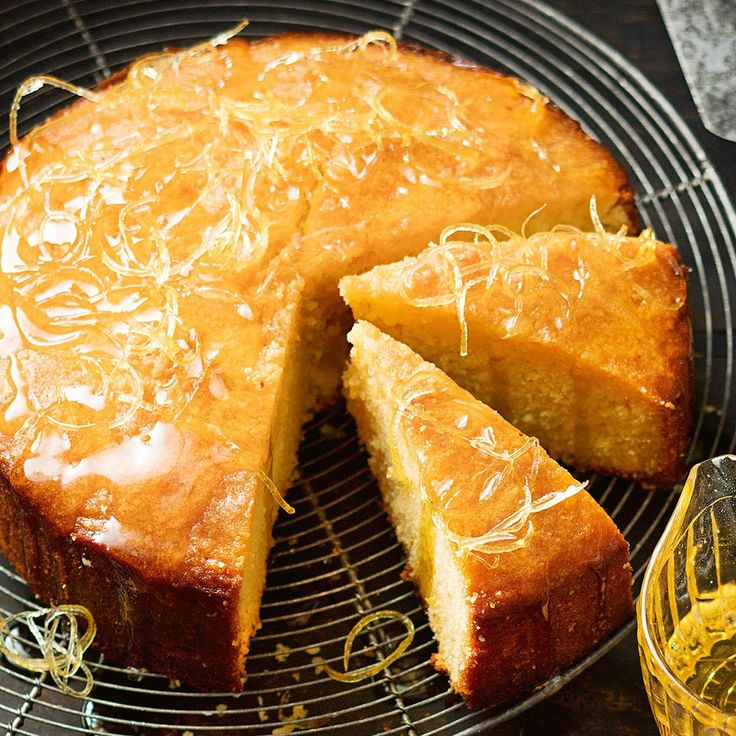 This gorgeous Lemon Syrup Cake, with it's tangy citrus syrup, makes a fabulous dessert!