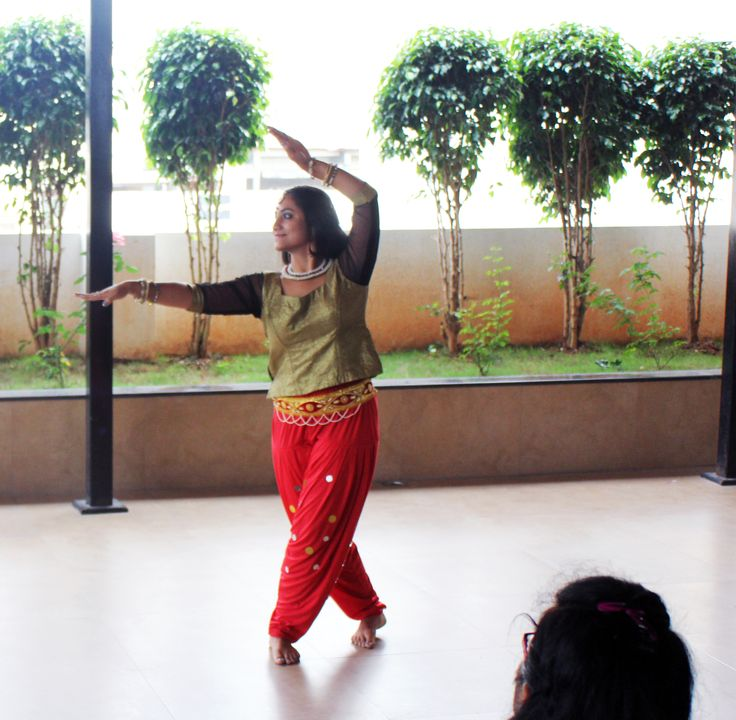 KenscioGotTalent: Classical Dance performed by an employee. #fun #workculture #dance #music #office