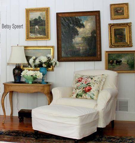 Die besten 17 Bilder zu Cottage Living Rooms auf Pinterest ...