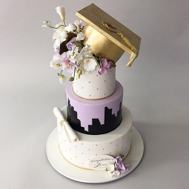 Cool graduation cake!