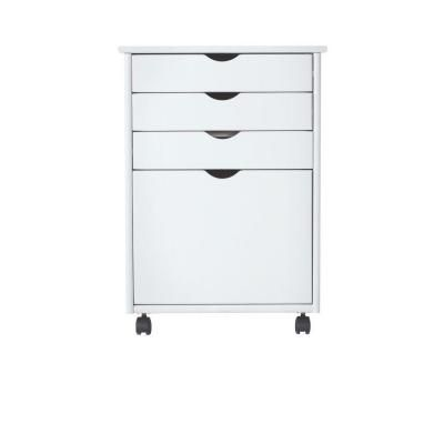 Create & Customize Your Furniture Stanton Storage Carts Collection in White – The Home Depot