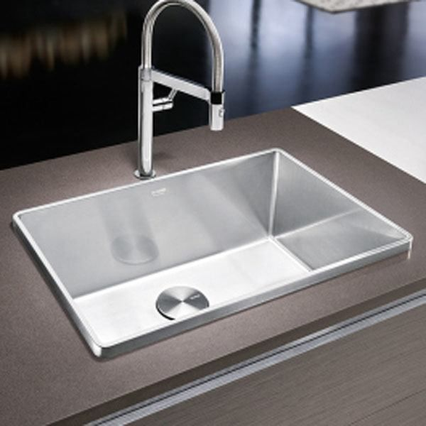 description attica drop in kitchen sink 27 x 18 x 10 blanco - Kitchen Sink Models