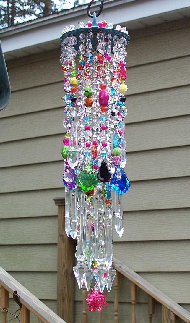 Celebration Antique Crystal Wind Chime. $199.95, via Etsy.