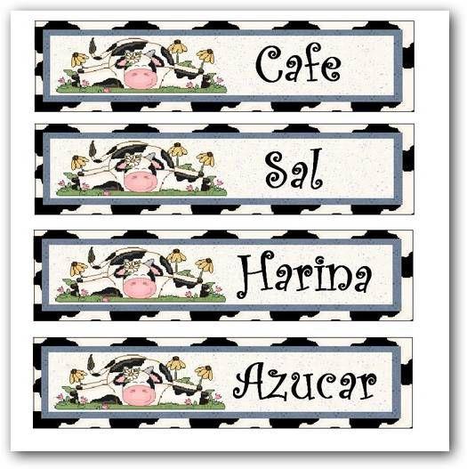 Etiquetas para frascos de cocina scrapbooking - Imagenes de cocinas para imprimir ...